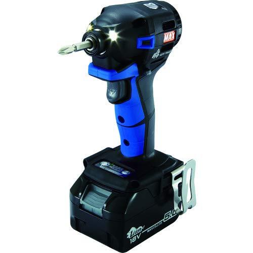 マックス(MAX) MAX 充電式ブラシレスインパクトドライバ(青) PJ-ID152B-B2C/1850A (PJ91192)