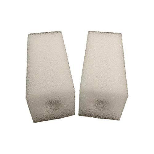 Paquete de 2 esponjas de espuma para filtros de acuario compatibles Eheim Pickup 160 (2010)