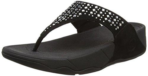FitFlop Novy Damen Sandalen, Black (Black 001), 39 EU