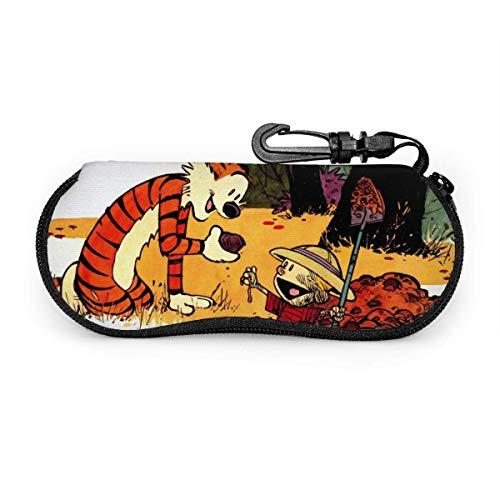 Calvin-and-Hobbes - Estuche portátil para gafas