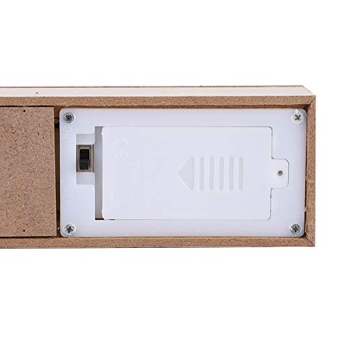Shanrya Decoración De Mesa, Decoración LED con Elegante Forma De Letra Inglesa LED para El Hogar, Sala De Estar, Dormitorio Infantil, Adorno para Decoración De Mesa