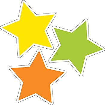 Schoolgirl Style - Twinkle Twinkle You re A STAR! Color Stars Colorful Cut-Outs Classroom Décor 36 Pieces