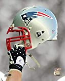 New England Patriots Helm Spotlight Foto (Größe: 20,3 x