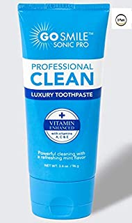 3 pack of luxury toothpaste by go smile