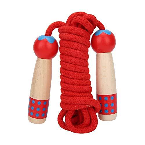 3 meter houten springtouw Fitness Kid Student springtouwen Buitenspeelgoed, lang touw, springtouw voor meerdere spelers, springtouw springtouw voor jongens en meisjes Fitness Game