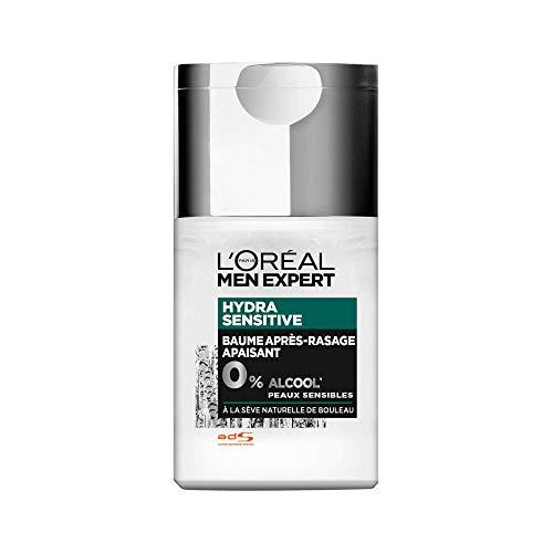 L'Oréal Men Expert - Soin Après-Rasage Hydratant - Pour Peaux Sensibles - Hydra Sensitive - 125 mL
