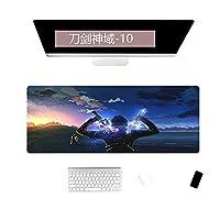 特大のデスクパッドコンピューターパッドキーボードパッドデスクパッドギフトマウスパッド可能-300x700x2mm_SwordArt Online-10