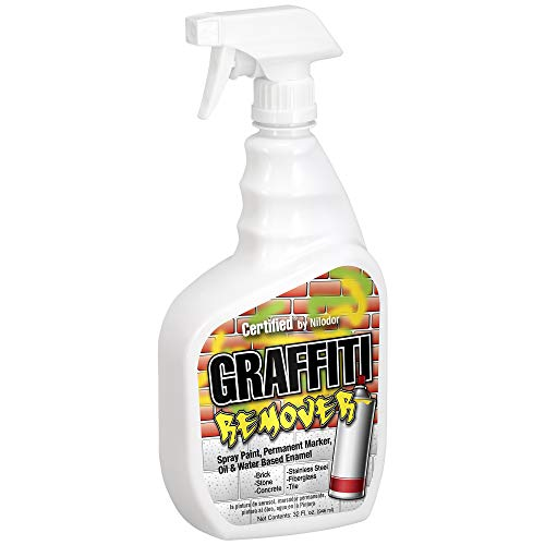 Graffiti Spray Paint/Oil/Water Based Enamel Remover by Nilodor