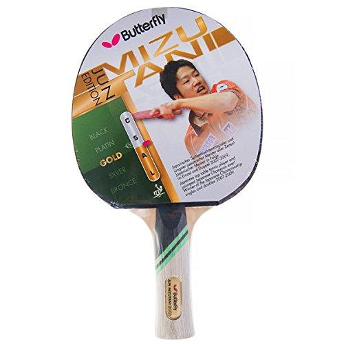Butterfly Jun Mizutani Gold Raquette de ping-Pong Mixte Adulte, Multicolore