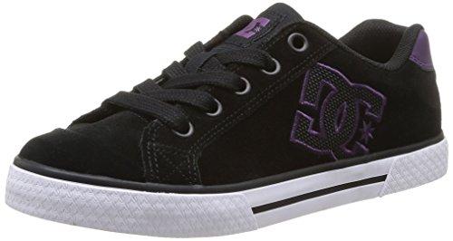 DC Shoes Chelsea Sd, Baskets mode femme, Nero (Black/Purple), 36