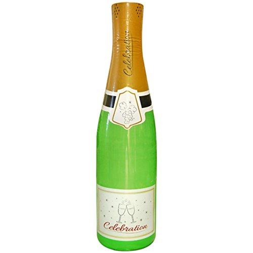 Spassprofi Champagner Flasche 1,80m aufblasbar Champagnerflasche Dekoration Deko