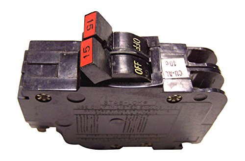 FEDERAL PACIFIC NC215 0215 FPE Stab-Lok Circuit Breaker 2 Pole 15 Amp 120/240V