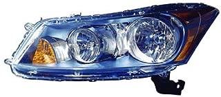Fits Honda Accord Sedan 2008-2012 Headlight Assembly Driver Side (CAPA Certified) HO2502130C