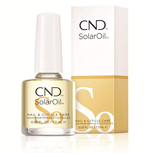 CND Essentials Nail & Cuticle Oil, Solaroil, 0.25 Fl Oz