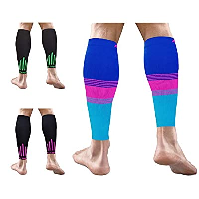 Calf Compression Sleeve Pair