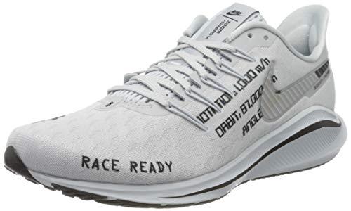 Nike Air Zoom Vomero 14, Scarpe da Corsa Uomo, Pure Platinum/Black-Reflect Silver, 44 EU