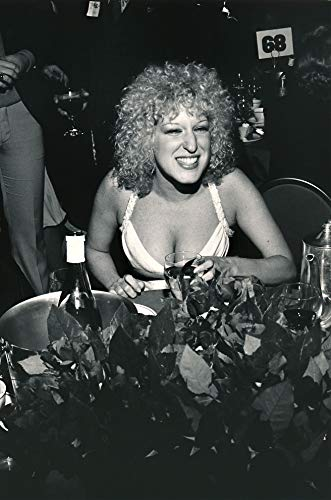 """Celebrity Vault Bette Midler: Young Vocalist with a Drink, an Archival Print - 24"""" x 20"""""""