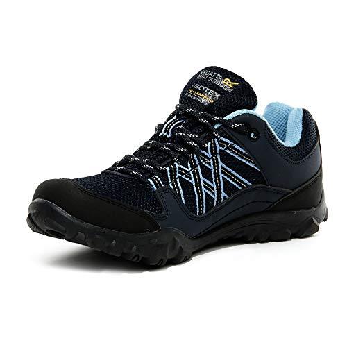 Regatta Women 'Edgepoint III' Waterproof Walking Shoes Low Rise Hiking...