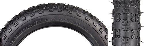SUNLITE MX3 BMX Tires, 16' x 1.75', Black/Black