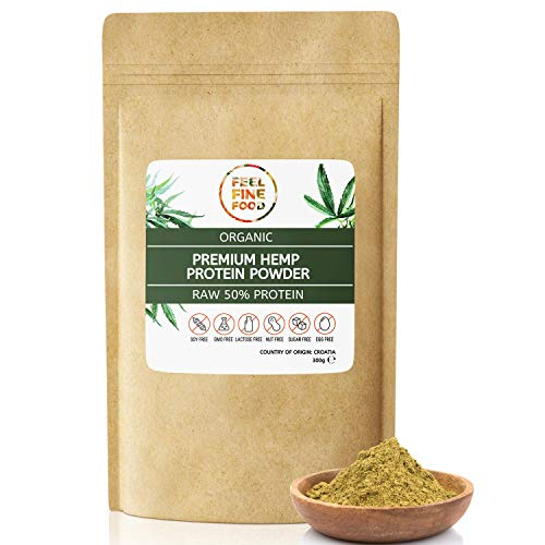 Organic Raw Hemp Protein Powder – 300g, EU