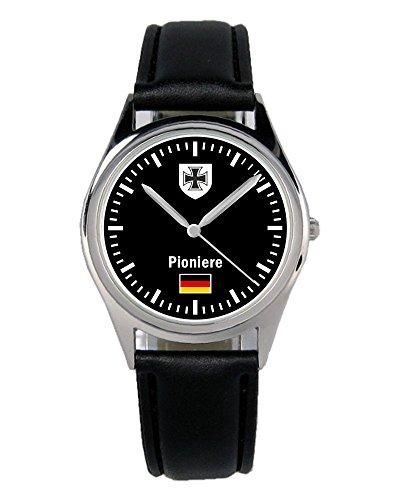 Soldat Geschenk Bundeswehr Artikel Pioniere Uhr B-1077