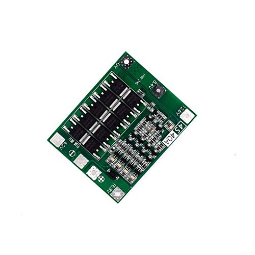 known 4S 40A Li-ion 18650 Lithium Battery PCB Charger Bms Protection Plate for Drill Motor 14.8V 16.8V Cell Module
