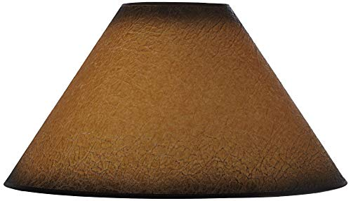 Distressed Faux Paper Large Lamp Shade 6