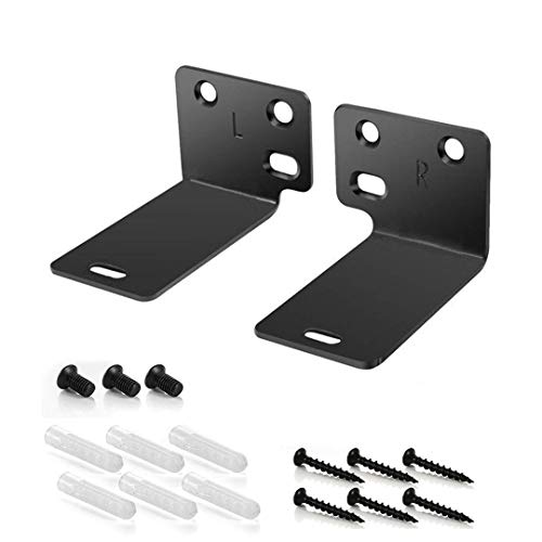 Black Mounting Wall Bracket for Bose WB-300 Sound Touch 300 Soundbar Soundbar 500 Soundbar 700 Speaker - 180 Days Warranty