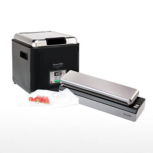 Sous Vide, Cottura di precisione con controllo a LED e APP WIFI per Mantiene sapori e nutrizione dell'ingrediente 1100 W AUKUYEE