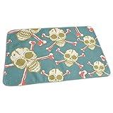 Bikofhd Bone Skull Baby Reusable Changing Pad Portable Changing Mat