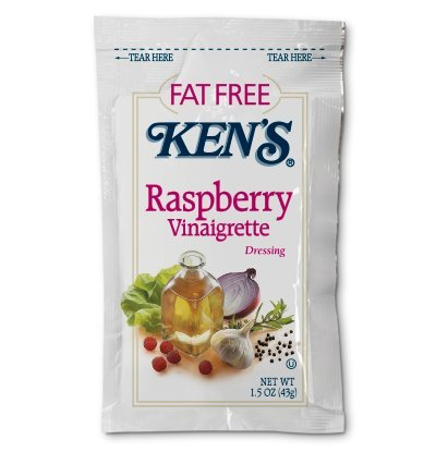 Kens Fat Free Raspberry Vinaigrette Dressing (Case of 60)