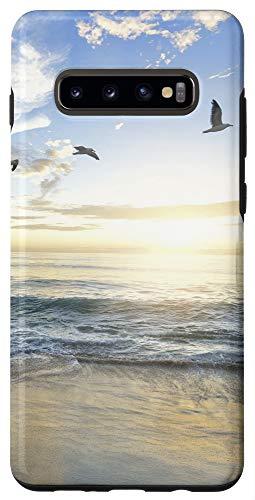 Galaxy S10+ Beach Ocean Sea Lover Tropical Hawaii Summer Aesthetic Phone Case