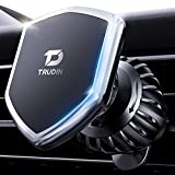 【Military-Grade Magnetic Vent Hook】 Phone Holder for Car【Ultra Sturdy】 Hands-Free Car Phone Holder Mount【Sharp Turns & Bumpy Roads Friendly】 Compatible with iPhone, Samsung,All Smartphones