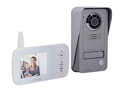 Videoportero inalámbrico Digital 2,4 GHz con Pantalla LCD 3,5''