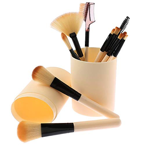 Schminkpinsel Set, ZoneYan professionelle Kosmetik Make-up Pinsel Set,12 Stück Schminkpinsel...
