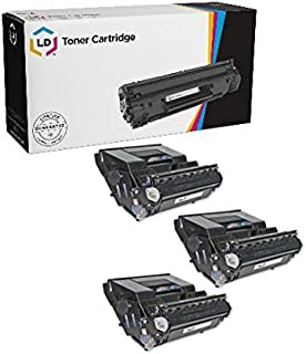 LD Compatible Xerox 113R00712 3PK Black Laser Toner Cartridges for use in Xerox Phaser 4510 Printer Series