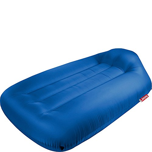 Fatboy Lamzac L, Portable Inflatable Air Lounger Bed with Carry Case - Petrol