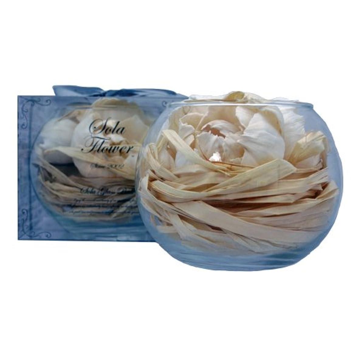 自動化表面ビールnew Sola Flower ソラフラワー グラスボウル Elegant Peony エレガントピオニー Glass Bowl