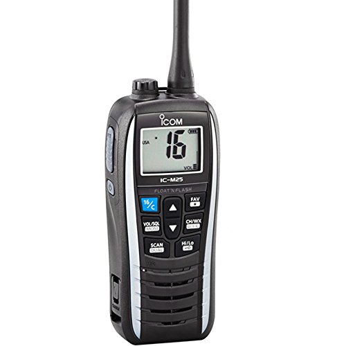 ICOM IC-M25 11 Handheld VHF Radio - White