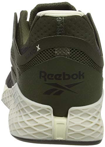 Reebok Men's Nano X Cross Trainer, Poplar Green Black Alabaster, 9 UK