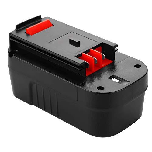 Dosctt 18V 3.0Ah Ni-MH Replacement Battery for Black & Decker A1718 A18 A18E A18NH HPB18 HPB18-OPE Firestorm FS180BX FS18BX FS18FL FSB18 NST2118 244760-00 Outdoor Cordless Drill