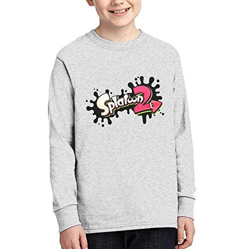 Splatoo-N 2 Teens Warm Junior Long Sleeve T-Shirts Anime Adolescentes Camiseta De Manga Larga