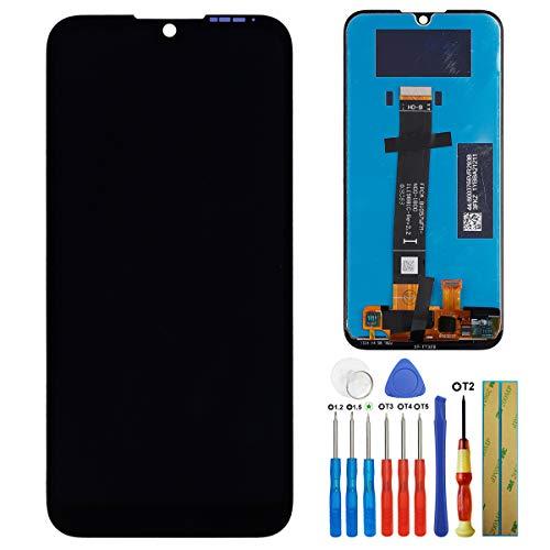 E-YIIVIIL - Pantalla LCD compatible con Huawei Y5 2019 AMN-LX9 AMN-LX1 AMN-LX2 AMN-LX3 5.71 pulgadas LCD táctil pantalla con herramientas