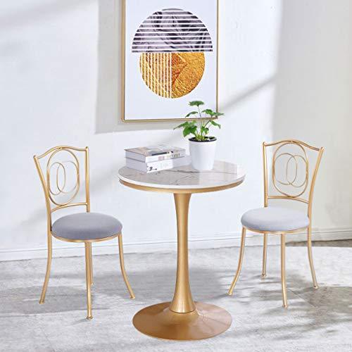 YLMF Marmor-Konferenztisch, hochwertiger Marmor, Glatte Kanten, Hochtemperatur-Backfarbenverfahren, stabile Basis, Höhe 75 cm (29,5 in)