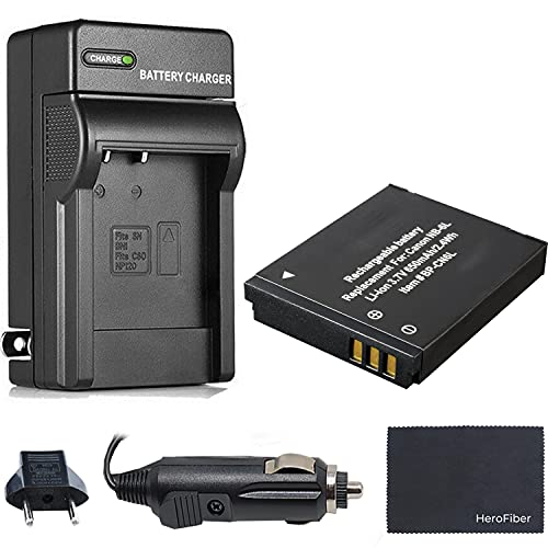 Xtech NB-6L Battery and Charger for Canon PowerShot SX240 SX260 SX270 SX280 SX510 SX520 SX530 SX600 SX610 SX700 SX710 10D 20D 30D S90 S95 S120 SD770 SD980 SD1200 SD1300 SD3500 SD4000 Digital Camera