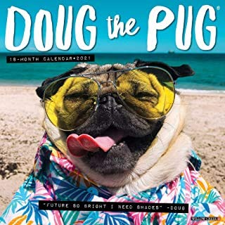 BUY 1 2021 DOUG THE PUG CALENDAR AND GET 2 FREE YEAR PLANNERS (TWENTY FIVE DOLLAR VALUE)- YOU CAN ALSO ORDER A CALENDAR PLANNER 2019-20