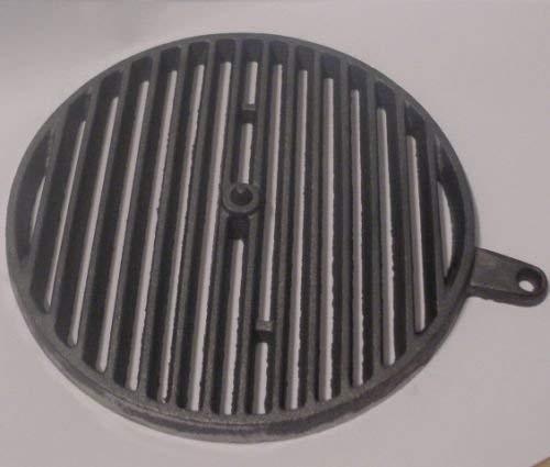 Powermat gietijzeren rooster Ø 28,5 cm rond rooster open haard rooster trilrooster voor ORTRAND serie KHE