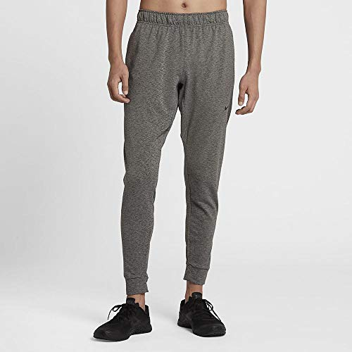 Nike Herren Dri-Fit Yogahose, Heather/Black, M