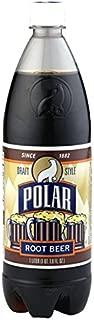 Polar Draft Style Root Beer Soda 1 L Plastic Bottles - Pack of 12