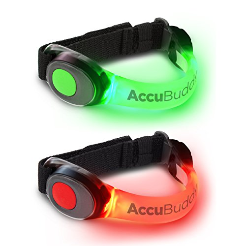 AccuBuddy LED Brazalete – Luz Brillante Hacer Jogging